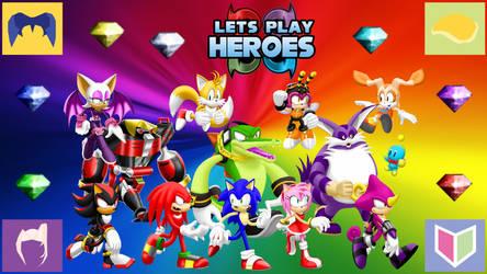 Let's Play Sonic Heroes Wallpaper by MidniteAndBeyond