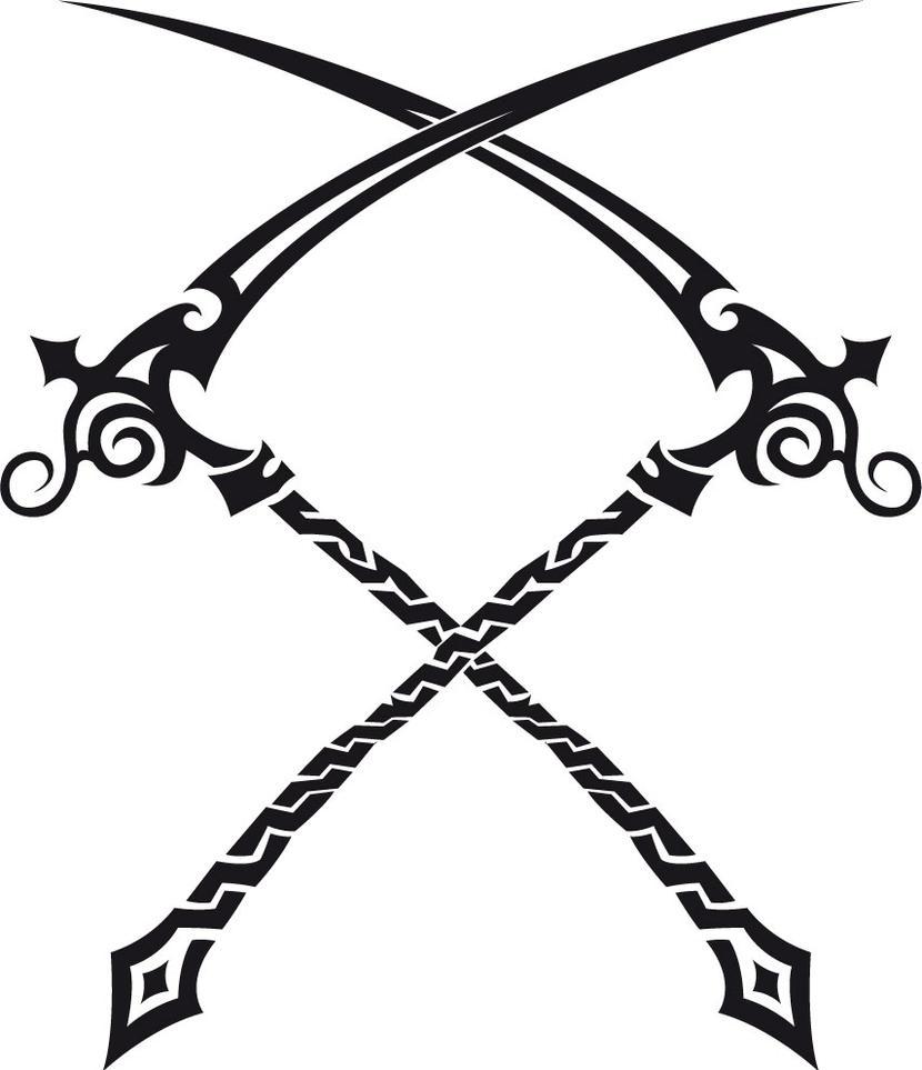 Tribal Death Tattoo: Tribal: Scythes By Tribaltyn On DeviantArt
