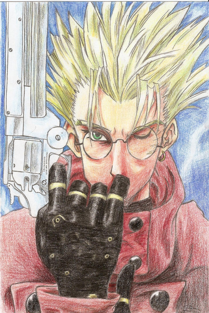 Vash the Stampede by blackyuna