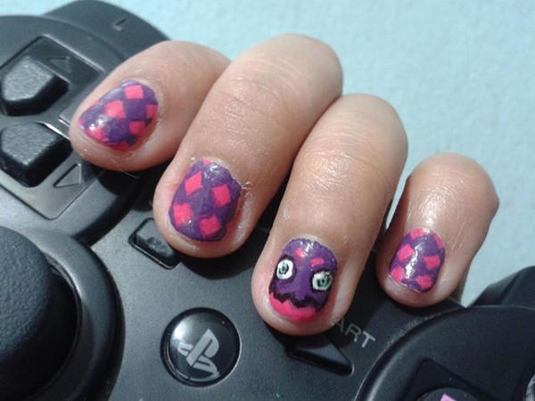 Teepo nails by blackyuna