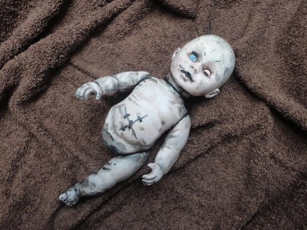 Doll from Death Stranding by blackyuna