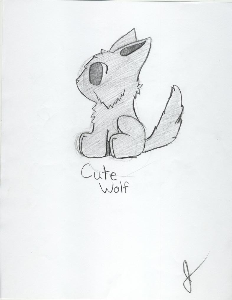 Cute wolf by animewolf227 Cute Anime Wolf Love