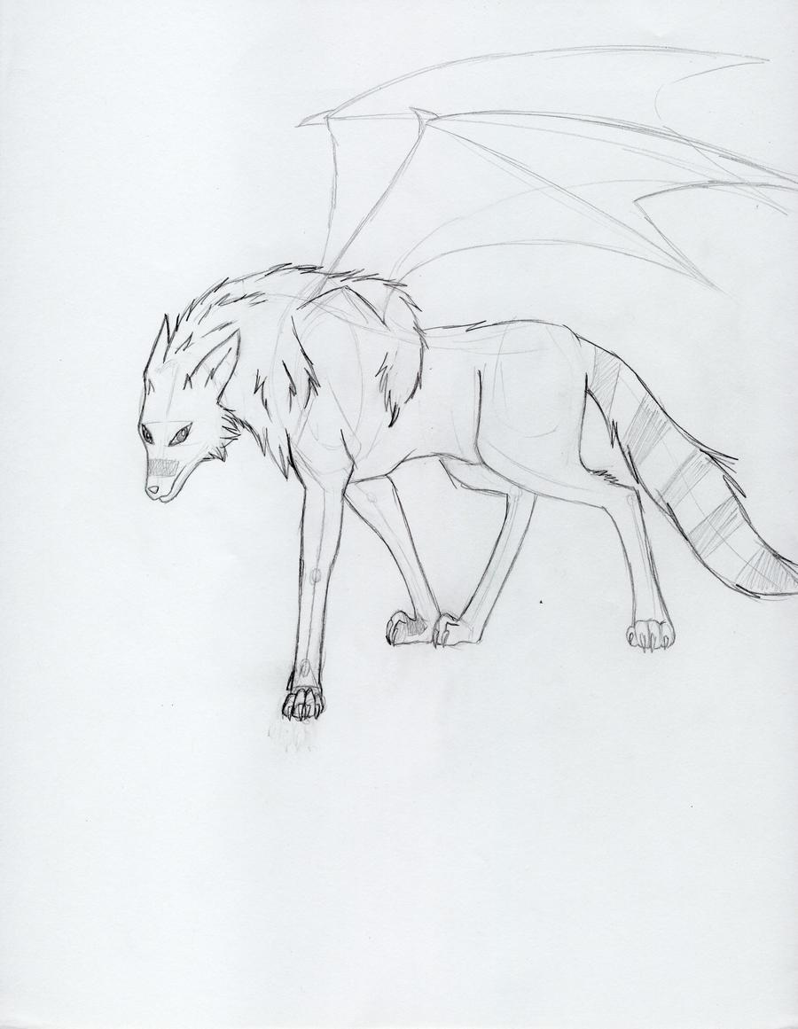 dragoart wolf by animewolf227 traditional art drawings animals 2010    Dragoart Drawings