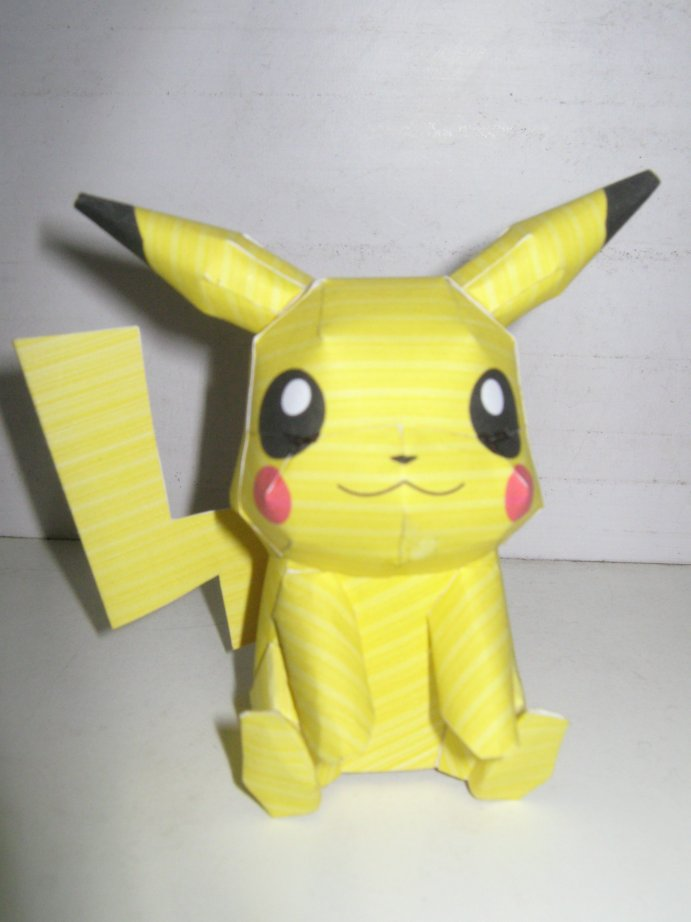 Pokemon paper craft paper crafts ideas for kids for Pokemon crafts for kids