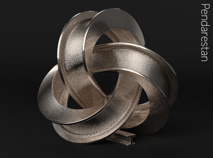 Girder Trefoil Knot by pendarestan