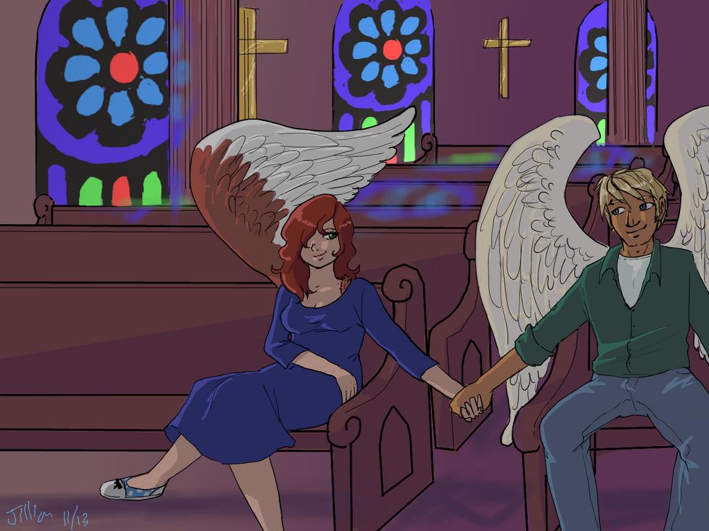 Angels At Home by YuYuchan