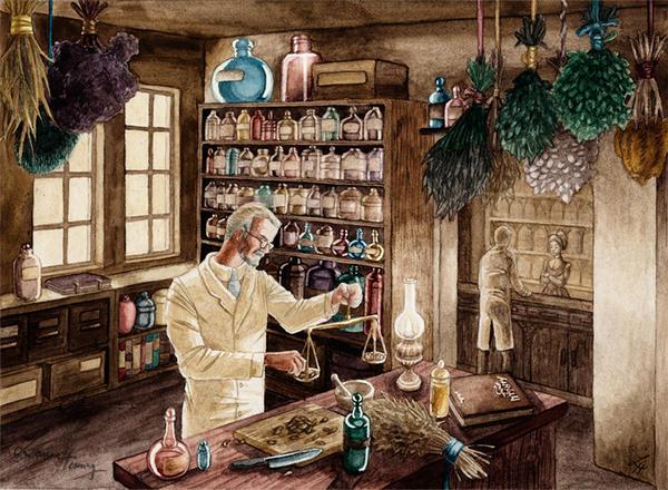 pharmacist by Scharach