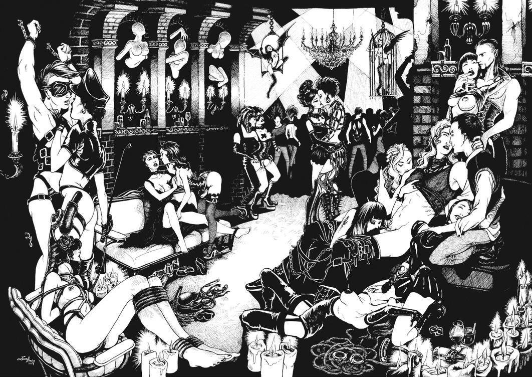 Dark Party by Scharach