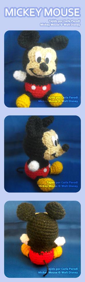 Mickey Mouse Amigurumi Schema : Mickey Mouse Amigurumi by kaniachocolate on DeviantArt