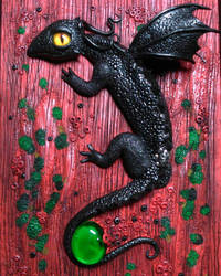 Baby Dragon by PatriciaSaavedra