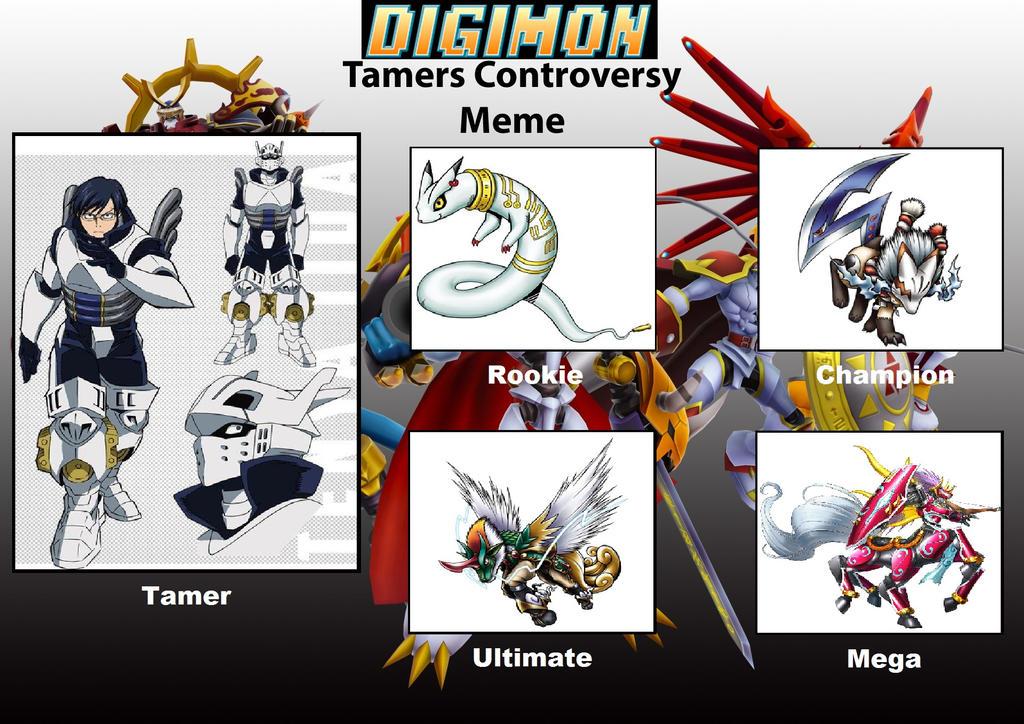 Digimon Tamer Project TI by DanomaruZenon