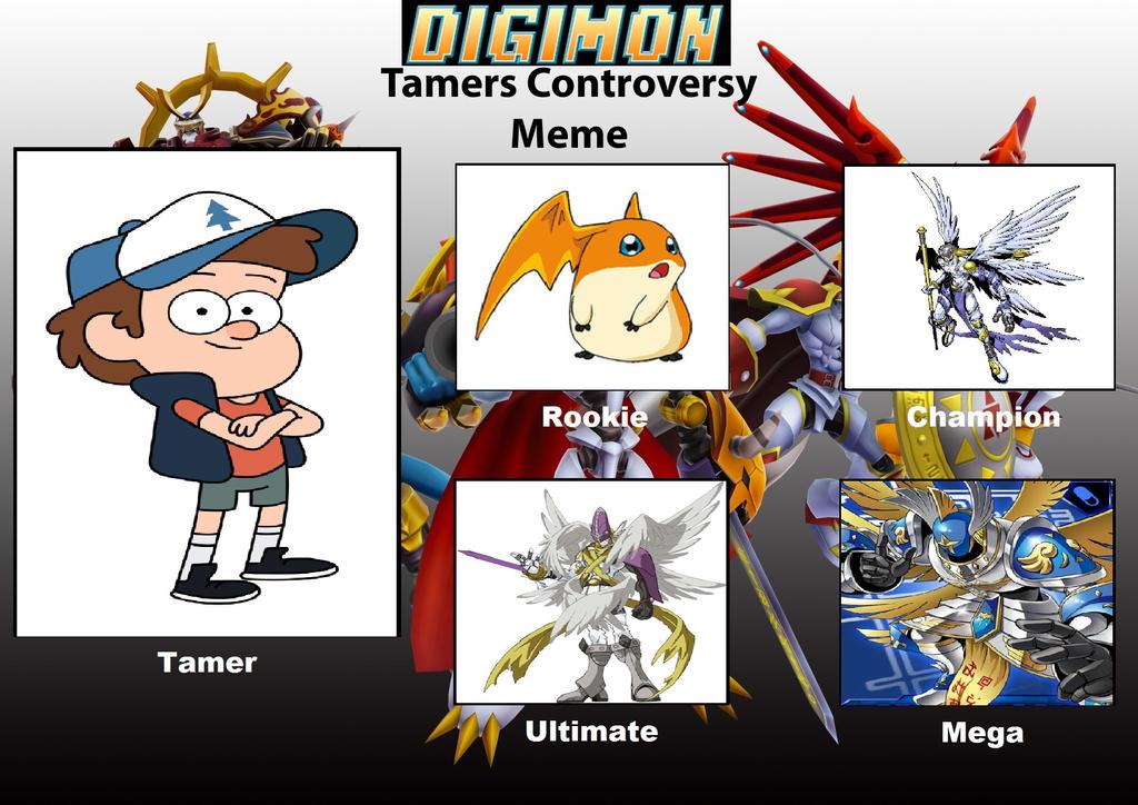 Digimon Tamer Project DP by DanomaruZenon