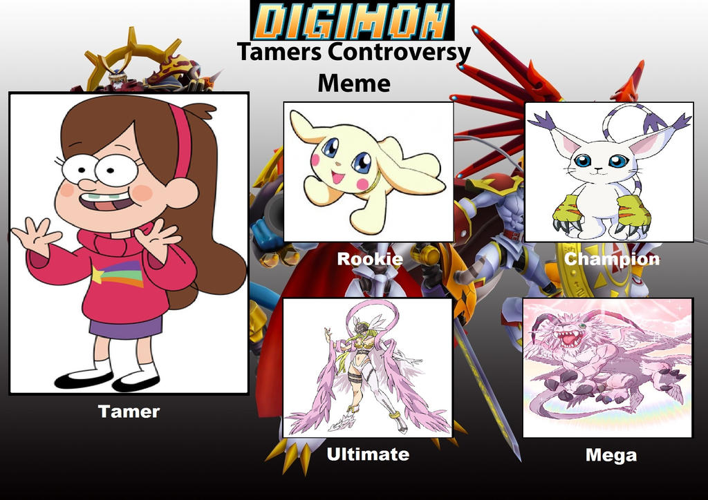 Digimon Tamer Project MP by DanomaruZenon