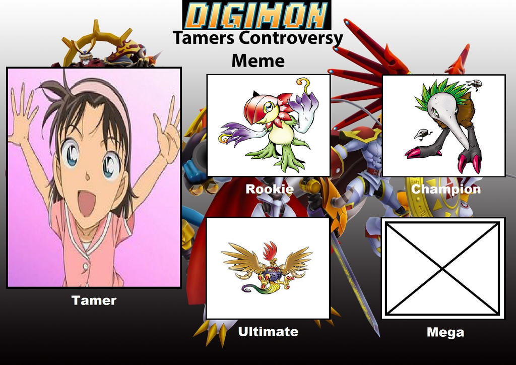 DCDB's Digimon Tamer Project AY by DanomaruZenon