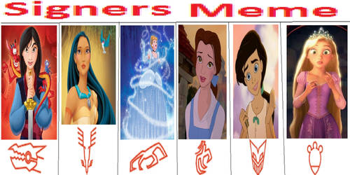 The Disney Signers Project B
