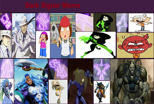 Dark Signer AU Multiverse Meme Project A