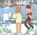 B's Awake! | Cover