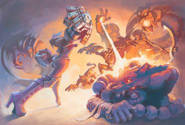 league of legends fanart by DecadentSky