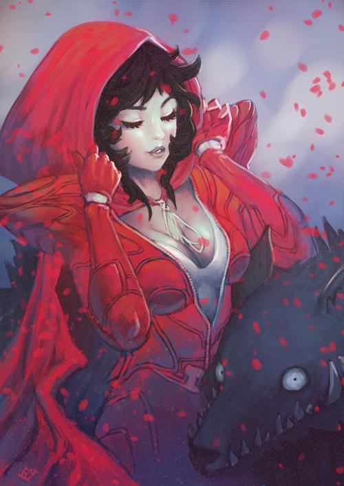 Red Riding Hood by wysoka