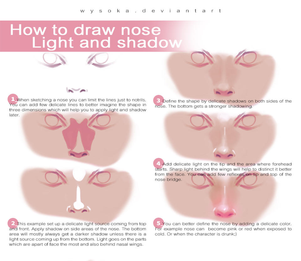 How to draw nose by wysoka on deviantart how to draw nose by wysoka ccuart Image collections