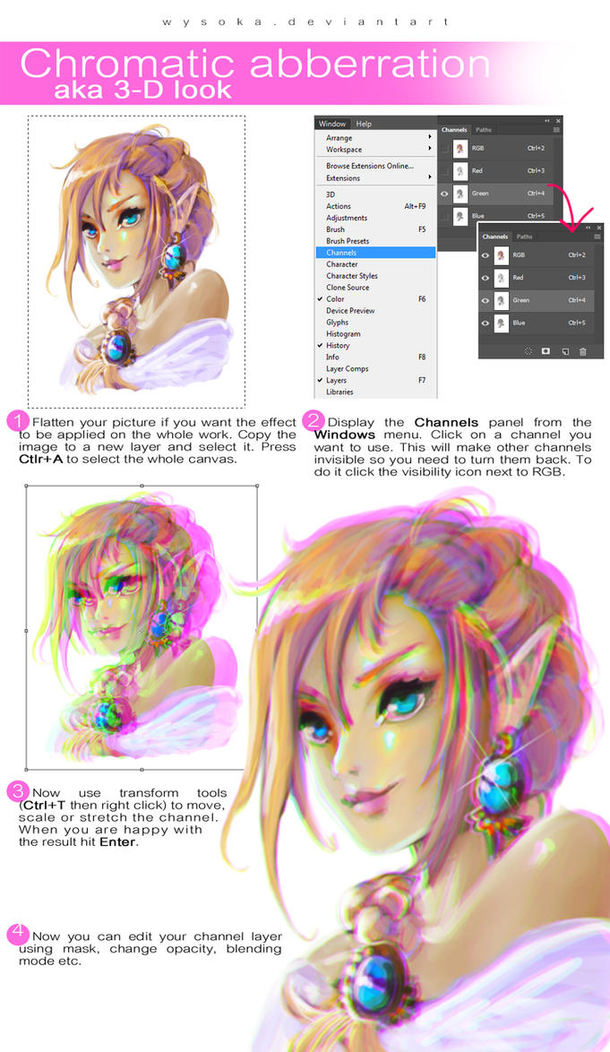 3d effect chromatic aberration by wysoka on deviantart 3d effect chromatic aberration by wysoka baditri Image collections