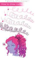 How to Draw Curls by wysoka