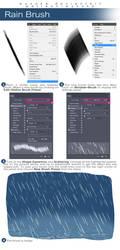 How to create Rain Brush by wysoka