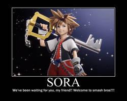 Sora motivational poster