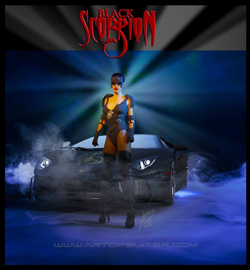 Black Scorpion by Dragonlourde