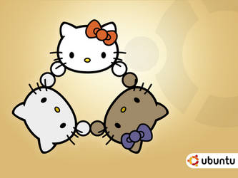 Ubuntu Hello Kitty