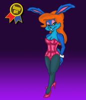 Bunny Girl Jam Eva Earlong by UnknownX