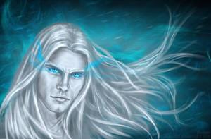 Arthas portret by anawind