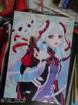 Yuna fanart from Sword Art Online Ordinal Scale