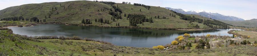 Peragin Lake by rockmashane