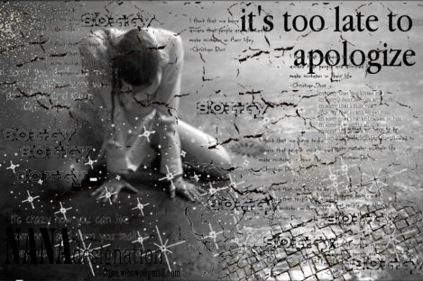 apologize-- one republic by NANAdesignation - 160.1KB