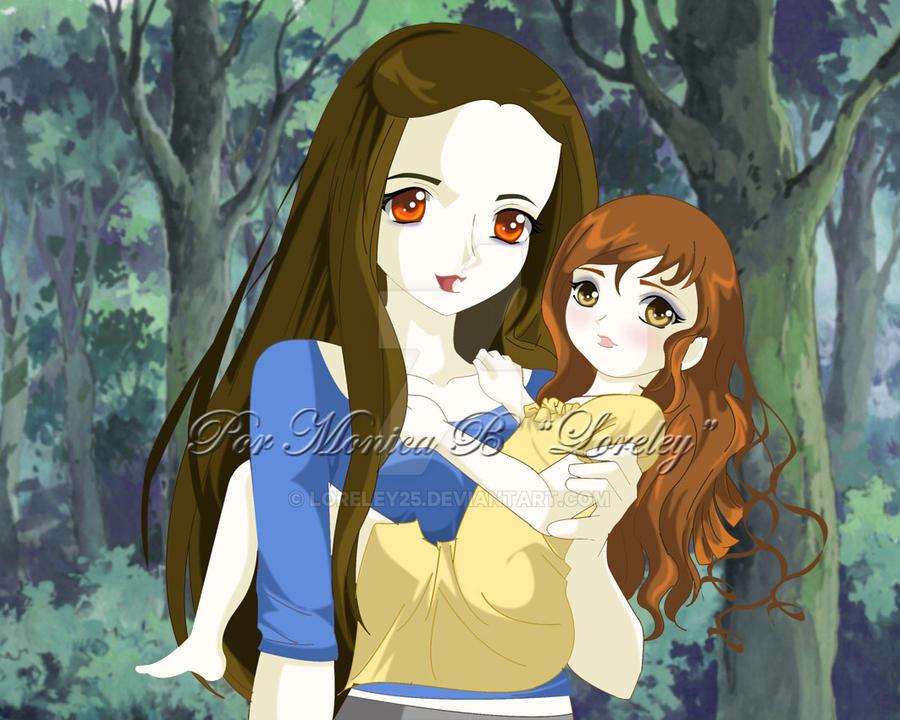 Bella y Renesmee by loreley25 on DeviantArt