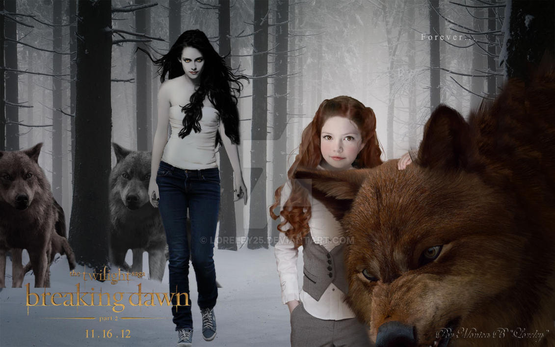 Breaking dawn part 2 teaser poster by loreley25