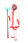 Lightning's New Outfit white mage