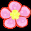 clipart Flash element Flower Pink by primavistax