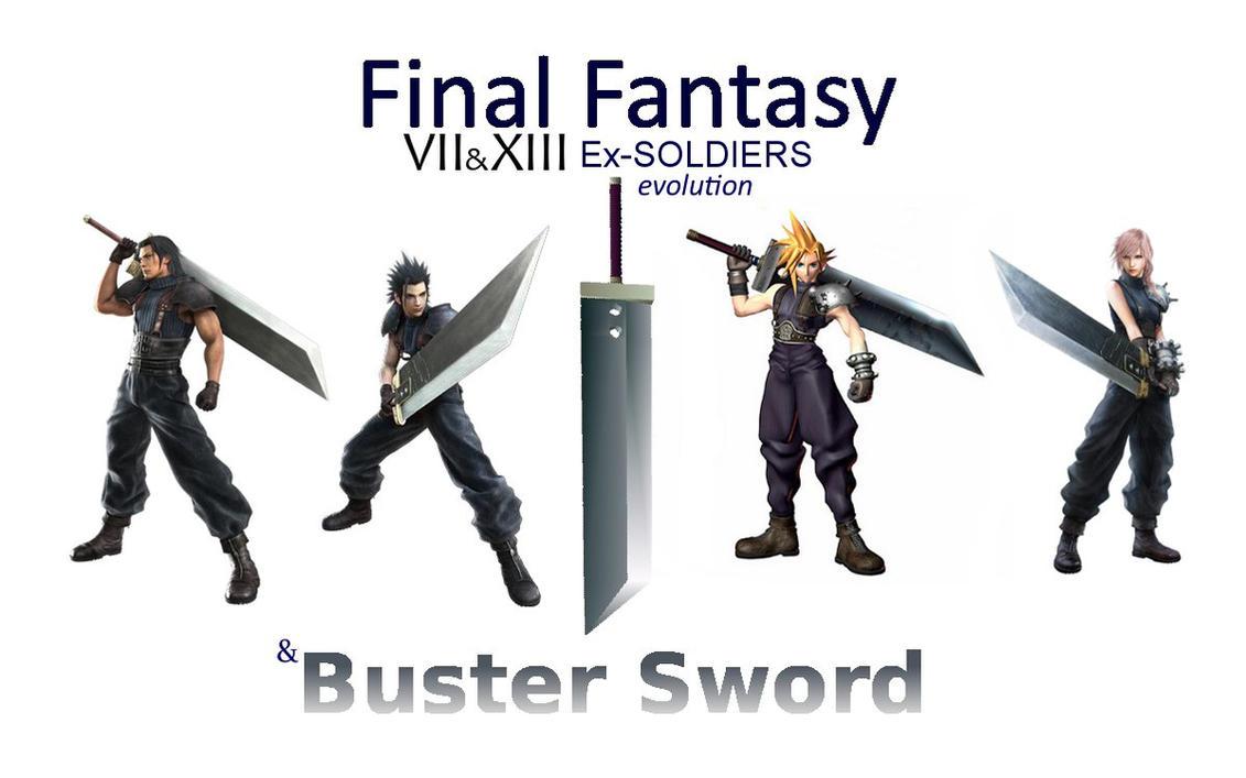 final fantasy meme ex soldiers 7/13 evolution by primavistax