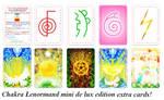 Chakra Lenormand mini delux 10 extra cards!