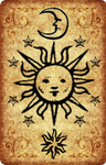 Ancient Lenormand card back preview