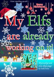 My Elfs Already Working On It by artReall