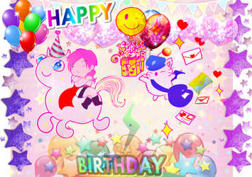 Wish You Happy Bday Part Light!w^o^w
