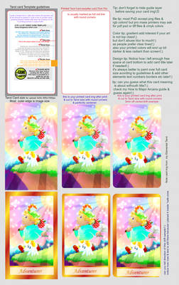 Printer Cards Samples