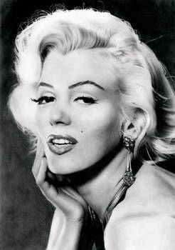 Marilyn Monroe's portrait