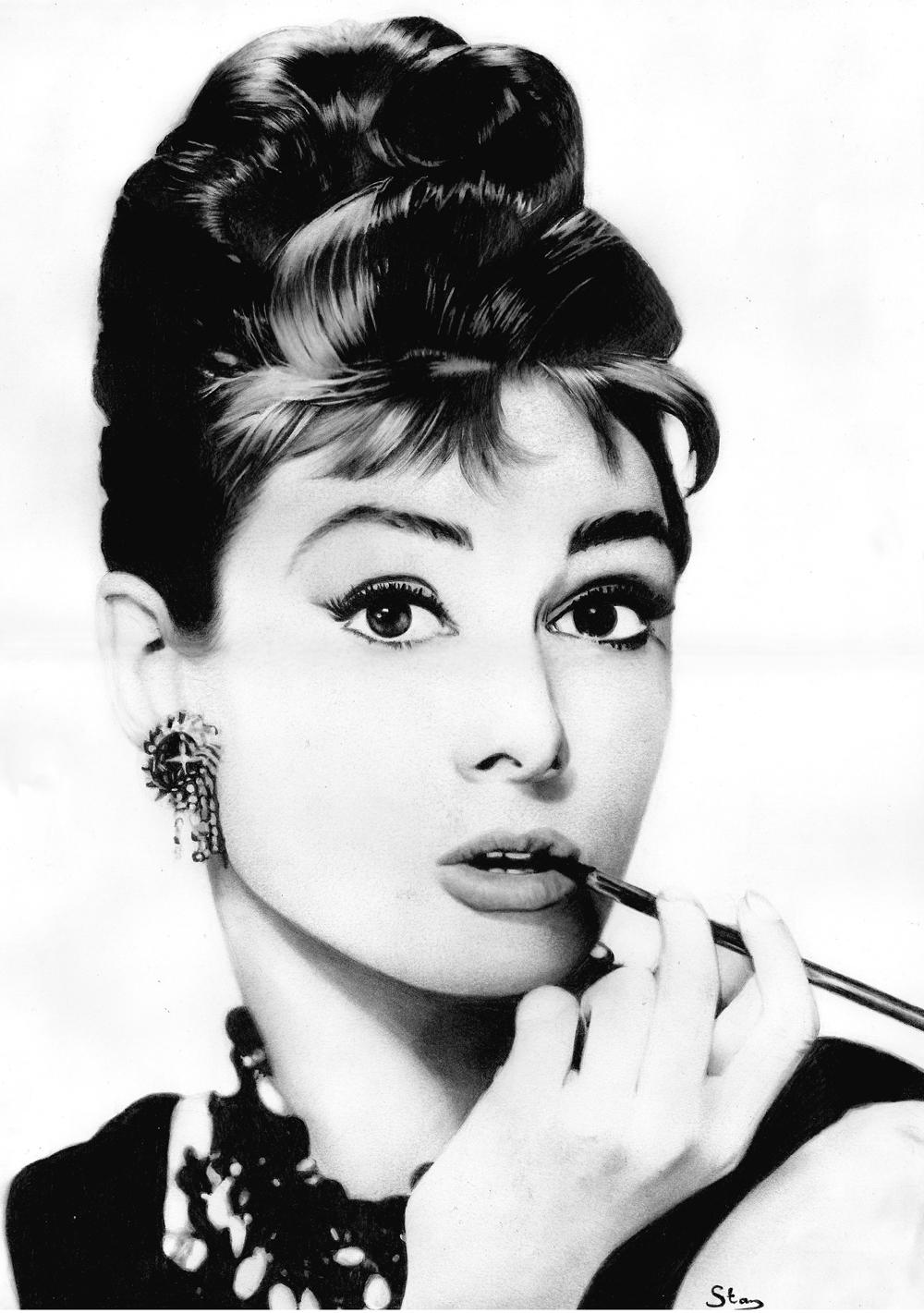 Audrey Hepburn By Stanbos On Deviantart