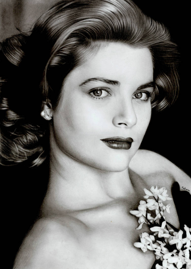 Princess Grace Kelly by Stanbos