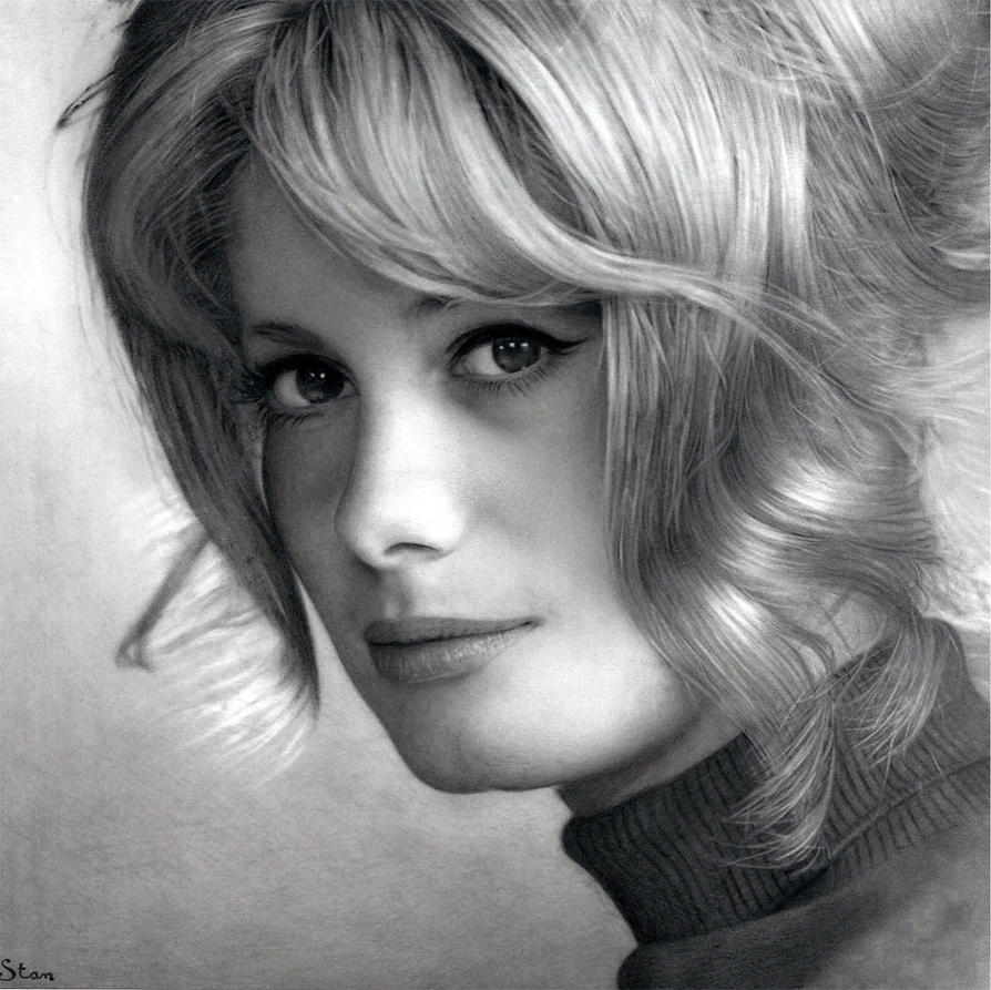 Catherine Deneuve by Stanbos