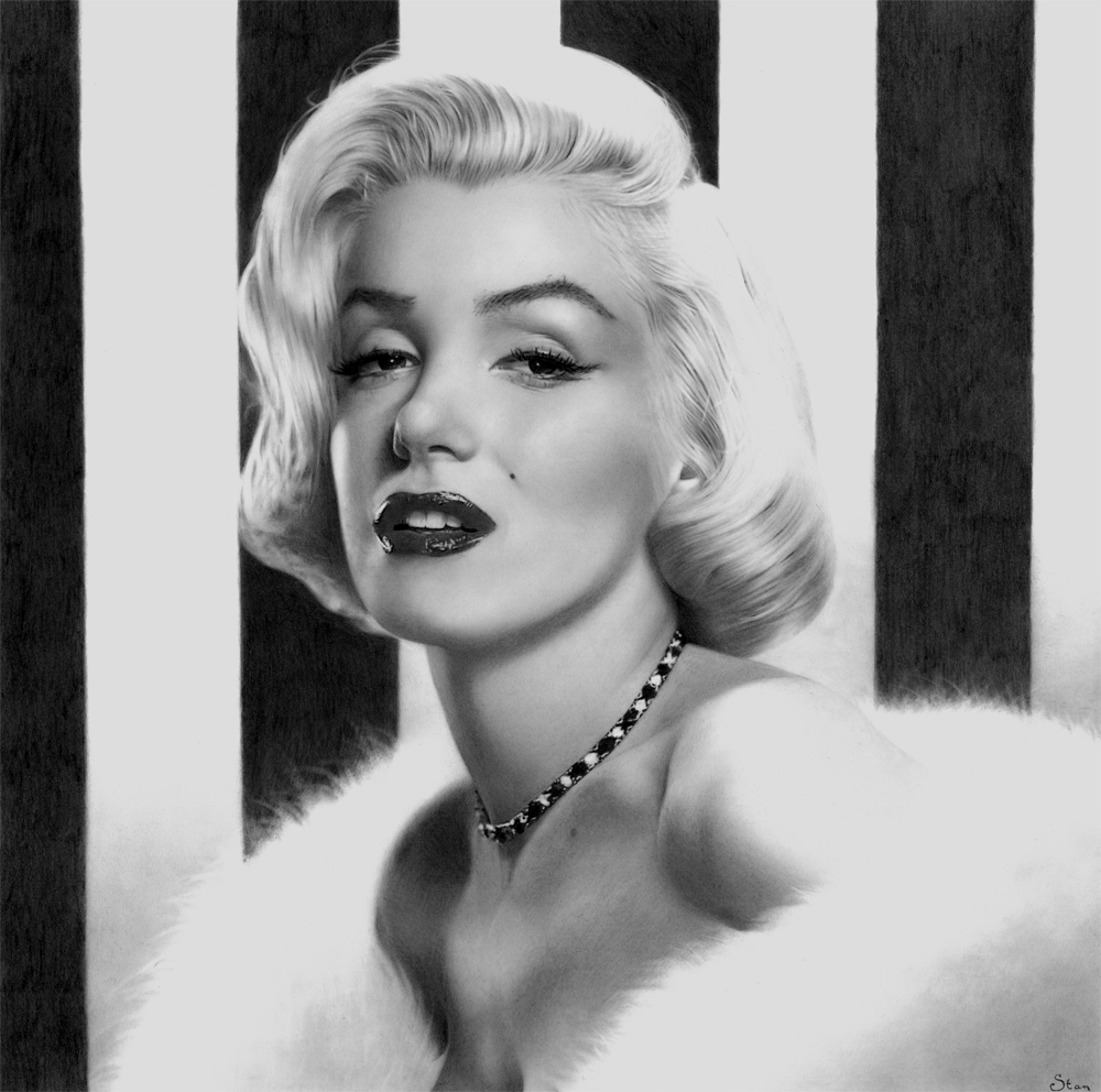 Marilyn Monroe by Stanbos